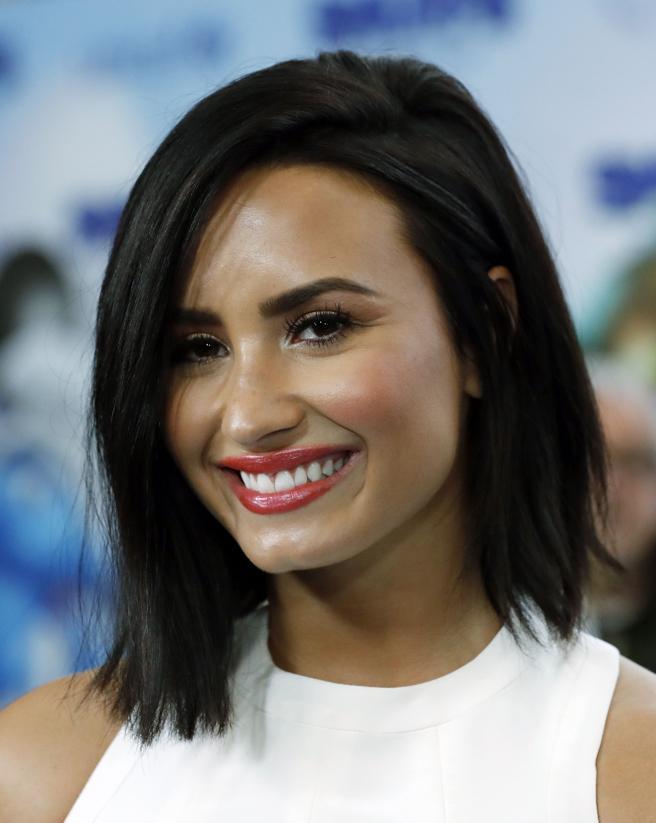 New York (United States), 18/03/2017.- (FILE) - Demi Lovato (united States, New York) EFE/EPA/JASON SZENES *** Local Caption *** 53396858