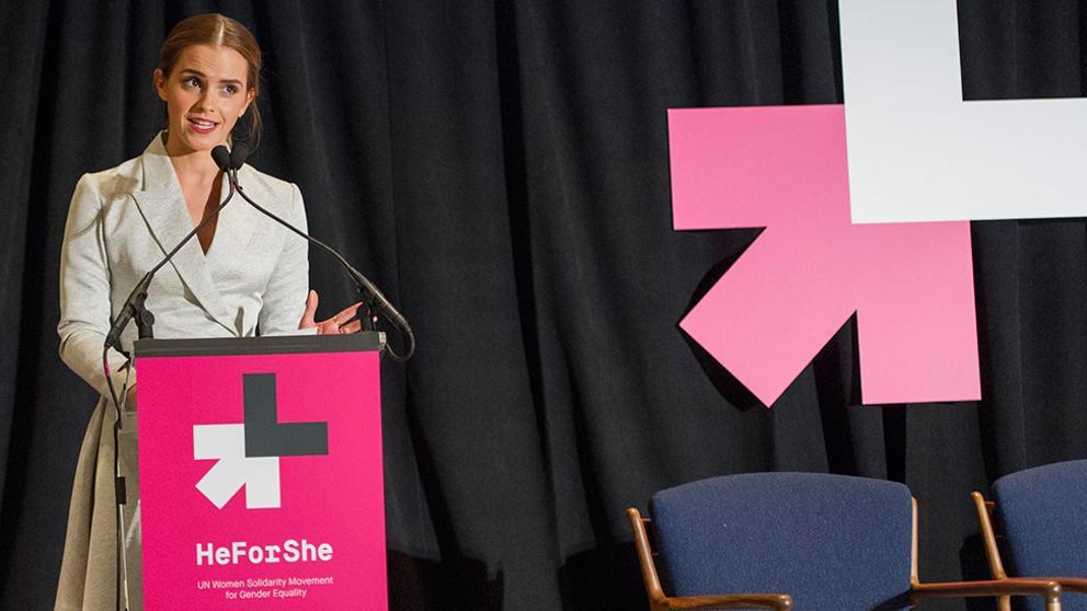 HeforShe, hombres por la igualdad de género