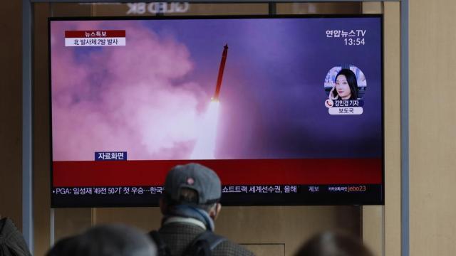 Corea del Norte dispara dos proyectiles no identificados frente al Mar de Japón