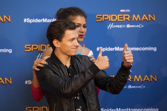 PHOTO: MANÉ ESPINOSA. PHOTO CALL FOR THE MOVIE SPIDER-MAN. TOM HOLLAND, ZENDAYA
