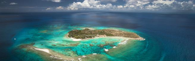 The island is a coveted luxury destination.