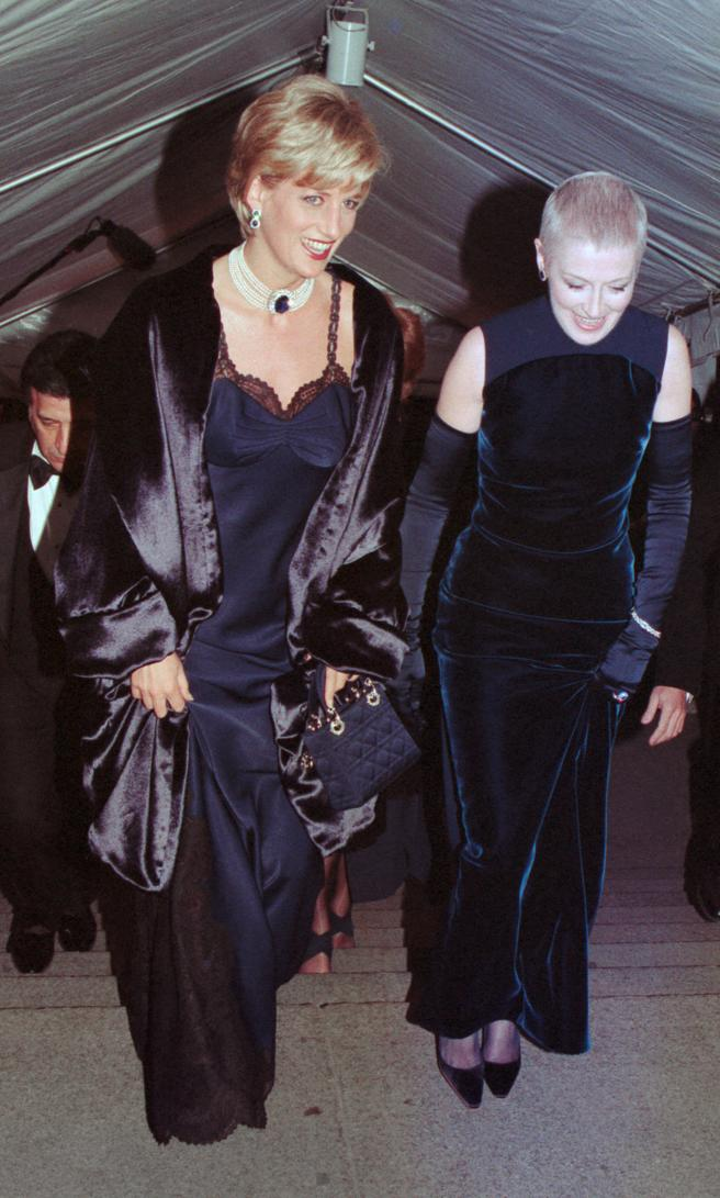 Princess Diana was surprised by his presence at the gala, 1996