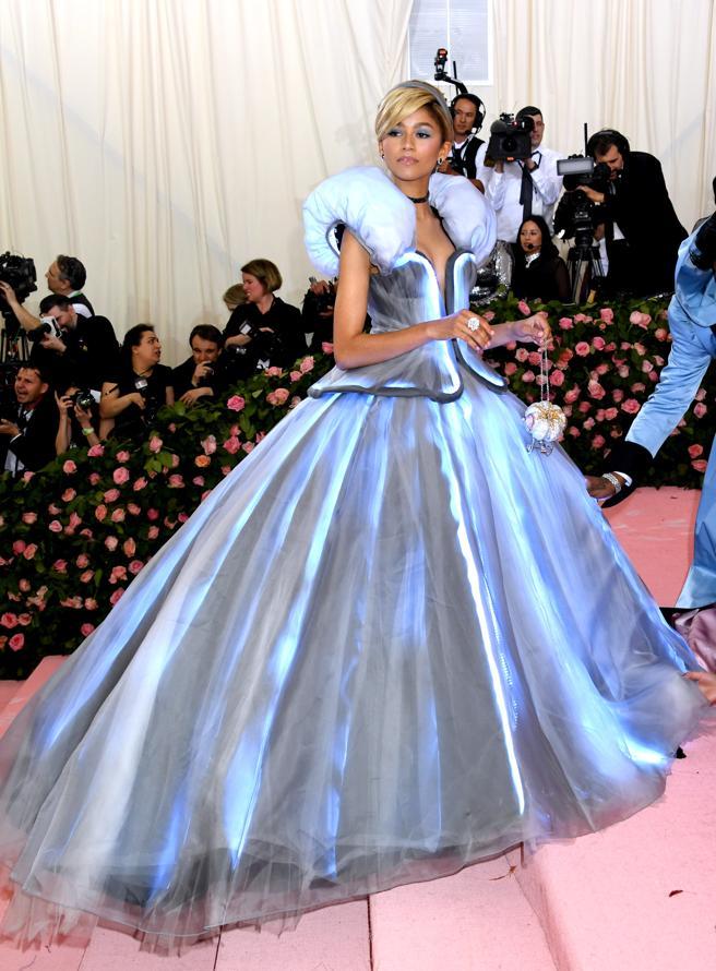 Zendaya, a Cinderella modern at the gala last year