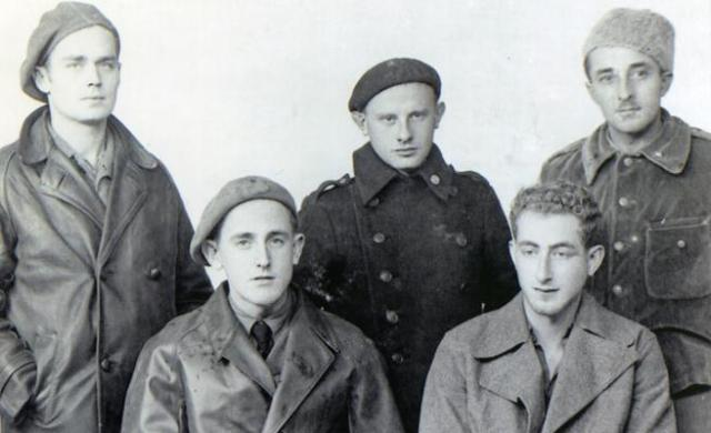 Cinco voluntarios de Wisconsin (© Cedobi)