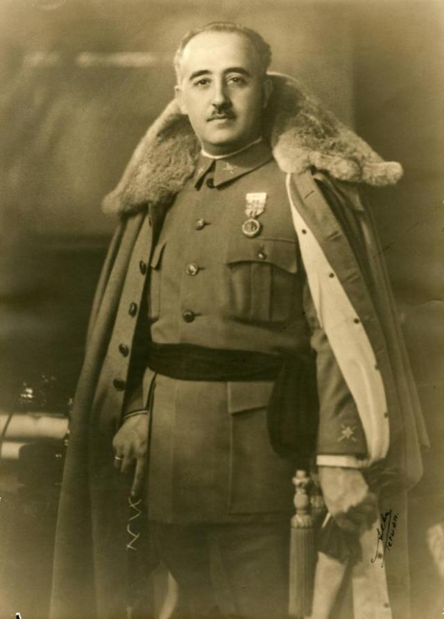Foto de Franco en 1930.