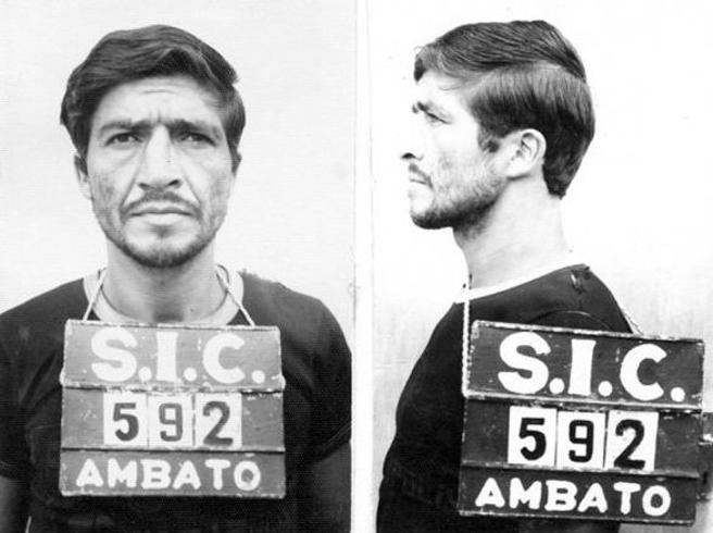 Ficha policial de Pedro Alonso López