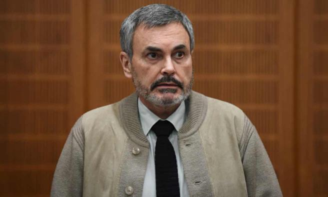 John Ausonius durante el juicio en Frankfurt en 2016