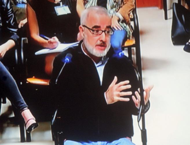 Alfonso Basterra, padre de Asunta, en su declaración ante el fiscal