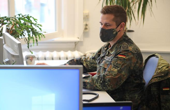 Since the first cases of coronavirus, German health authorities have multiplied their workforce, using the military for example, to provide contact tracing of infected people,