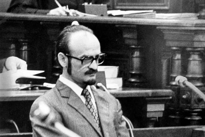 Fritz Honka, durante el juicio
