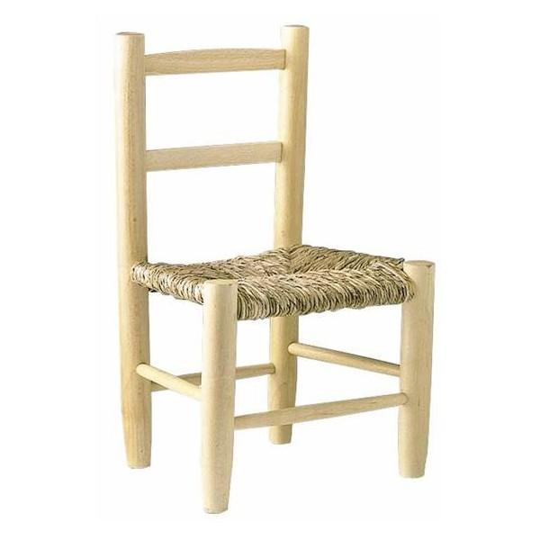 la vannerie d aujourd hui chaise enfant en bois naturel et paille