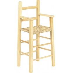 la vannerie d aujourd hui chaise haute pour enfant en bois naturel