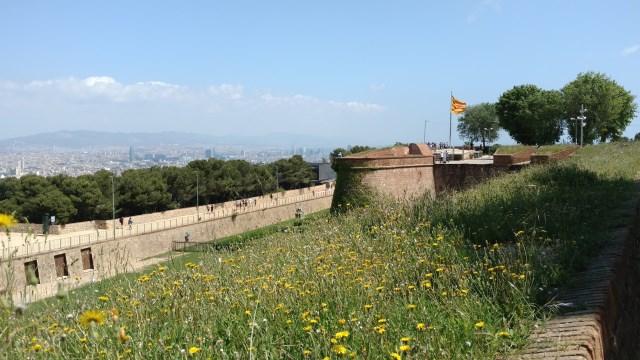 Castell de Montjuic Flag