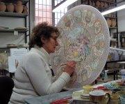 Pittura su ceramica, Laura Silvagni - La Vecchia Faenza