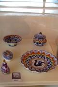 Faenza ceramics in Pavona style