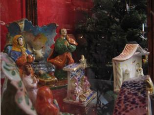 Presepe in ceramica di Faenza