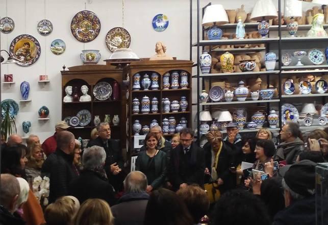 50 anni La Vecchia Faenza: tanti clienti e autorità