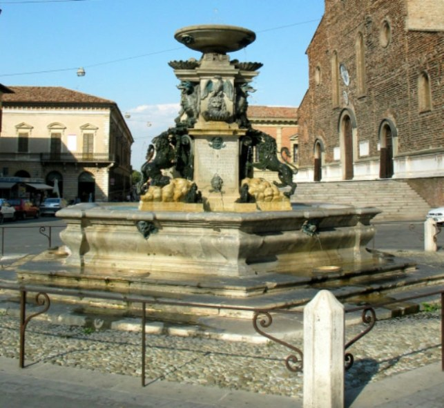 the Monumental Fountain of Faenza