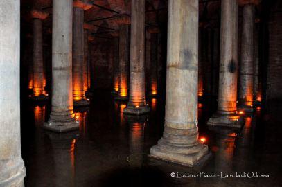Turchia, Istanbul: l'antica cisterna romana.