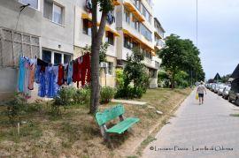Romania, Mangalia: scene di strada.