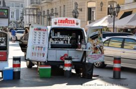 Ucraina, Odessa: caffe mobile.