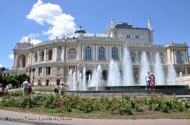 Ucraina, Odessa: il teatro dell'opera.