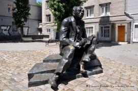 Ucraina, Odessa: la statua di Babel'.