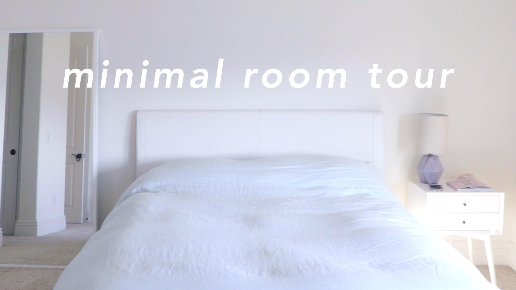 Minimalist Room Tour Lavendaire