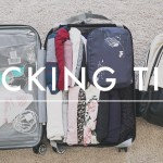 Travel Packing Tips + Packing Checklist