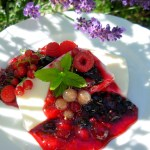 Vanilla Cream Terrine with a Compote of Mixed Summer Berries
