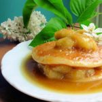 Spotty Bananas does Posh Pancakes! Buttermilk Pancakes with Banoffee Bananas & Cream