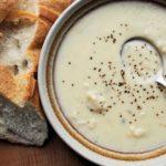Creamy Cauliflower & Stilton Cheese Soup