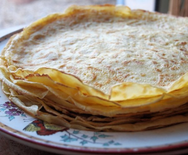 A Quire of Paper Pancakes with Lemon & Sugar