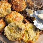 Scones – Wensleydale Cheese, Leek & Walnut Scones