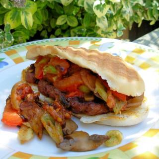 The Secret Recipe Club and Home Made Sausage served Italian Style