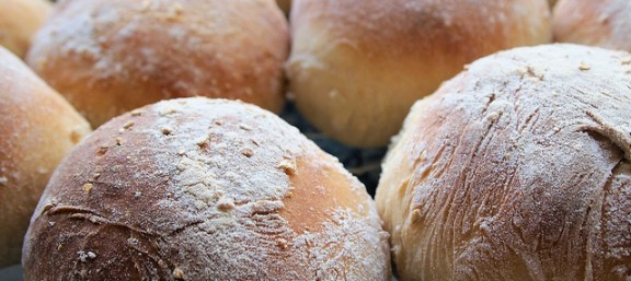 Last Day to Celebrate British Bread Week with my Mum's Scottish Morning Rolls – Baps