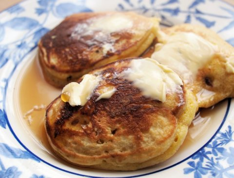 Dropped Scones for Breakfast (Griddle Cakes)