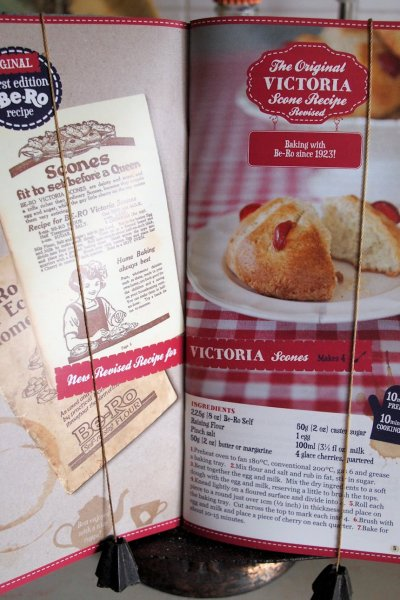 Jubilee Victoria Scones from the Be-Ro Recipe Book