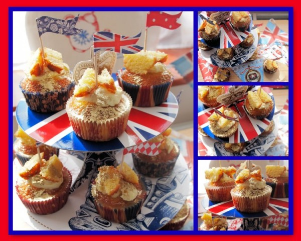 Royal Elderflower & Lemon Curd Butterfly Cakes for the Forman & Field Jubilee Bake Off