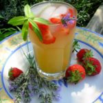 Wolds Way Lavender and Strawberry Fruit Cup