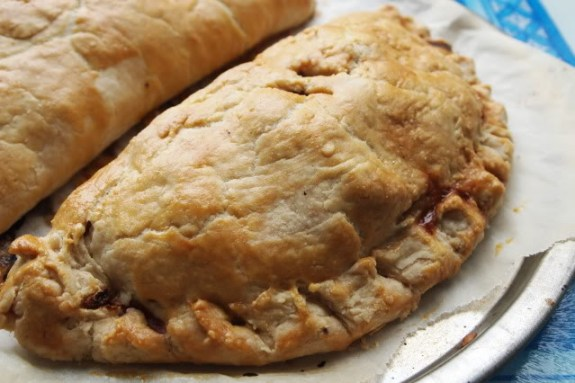 Fresh out of the oven, Cornish Pasties