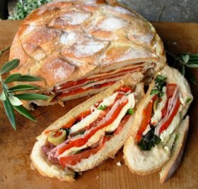 Pan Bagnat ~ A French Picnic Sandwich