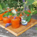 A Provence Summer Preserve ~ French Set Apricot and Lavender Jam (Confiture)