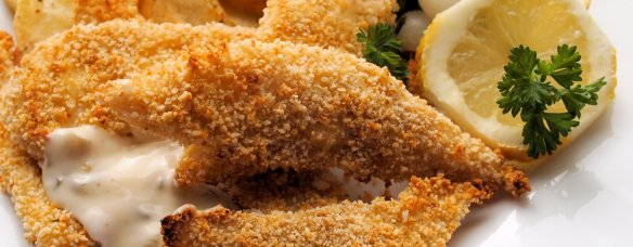 Fish on Friday: Low-Fat Cumin Scented Plaice Goujons with a Panko Crumb