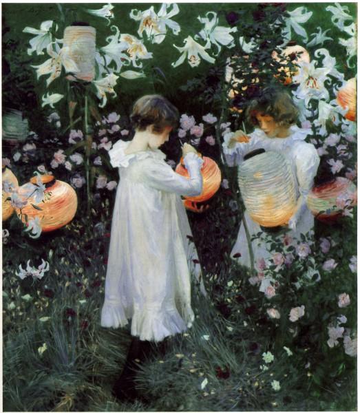 Carnation, Lily, Lily, Rose - John Singer Sargent