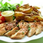Grilled Chicken Breasts using the marinade
