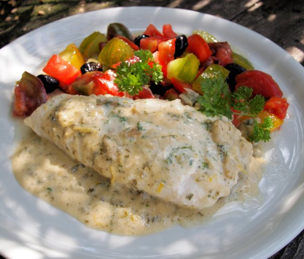 Fasting and Feasting with Fish on Friday: Middle Eastern Tahini and Lemon Baked Fish - Perfect for the 5:2 Diet