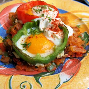 Mexican Eggs Two Ways