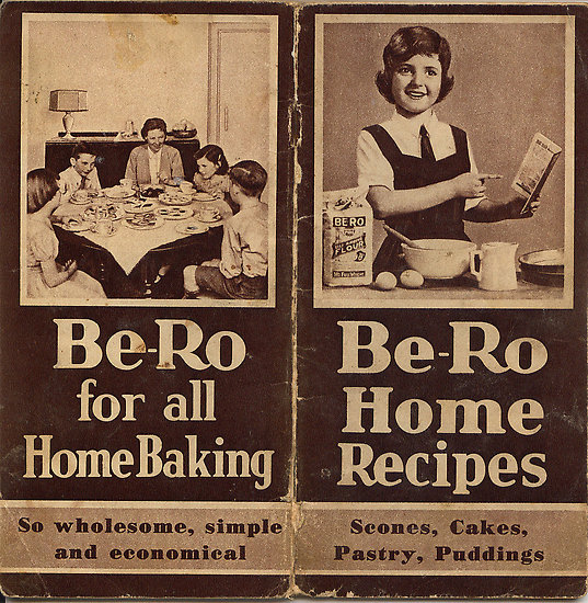 Baking in Black and White from 1929 to 2012 with Be-Ro