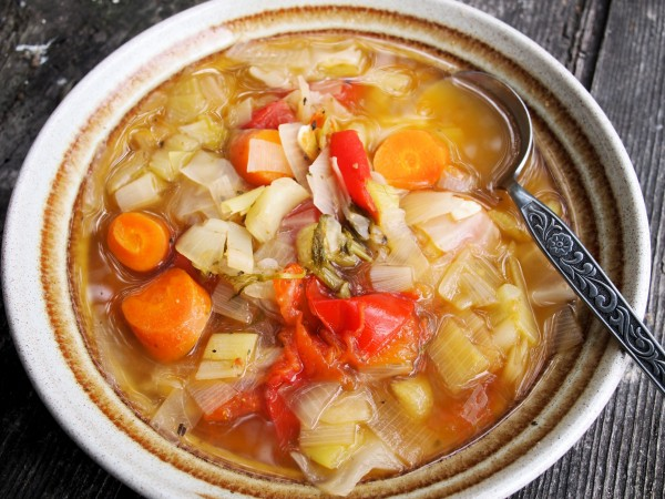 Elderberries, Stormy Days and Meal Planning: Autumn Broth for the 5:2 Diet Fast Days